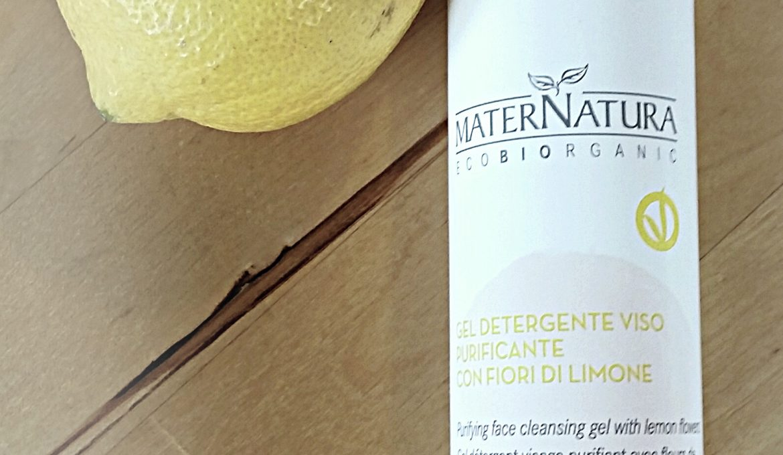 Gel Detergente viso purificante Maternatura ai fiori di limone- Recensione