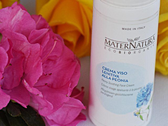Crema viso lenitiva alla peonia Maternatura – Recensione
