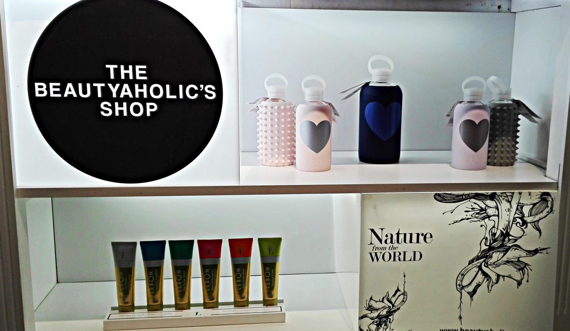 The Beautyaholic's Shop, la boutique green nel cuore di Roma