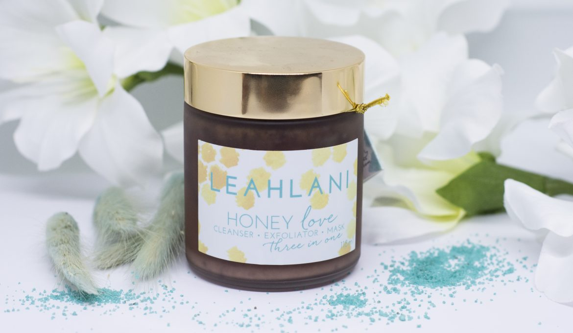 honey love mask 3-in-1 Leahlani