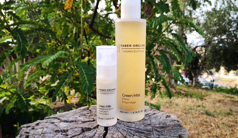 Green Mist e Green Milk di Faber Organic: cosmetici funzionali con tè verde e lattobacilli