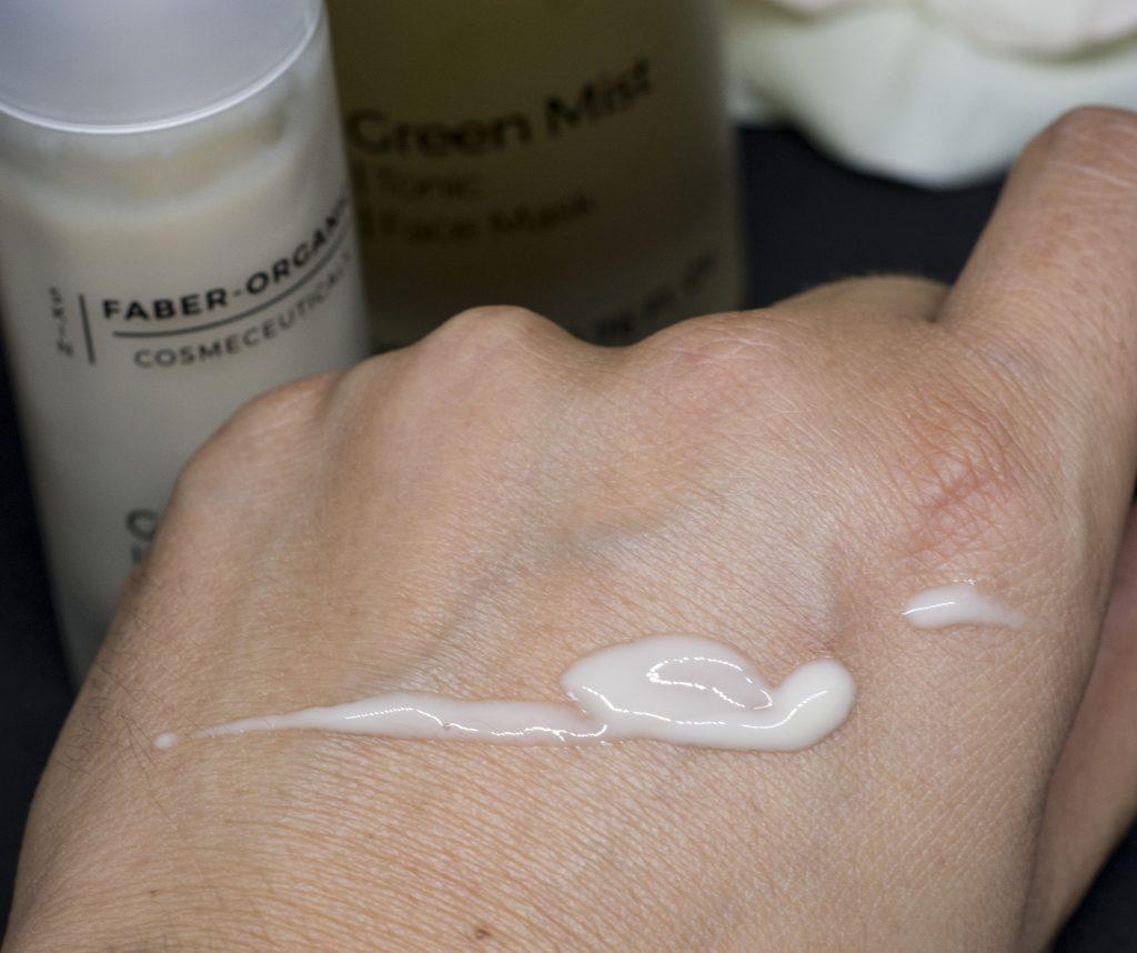 faber organic green milk